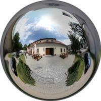 Koszęcin. Siedziba Zespołu Pieśni i Tańca Śląsk – Muzeum w kompleksie pałacowo-parkowym