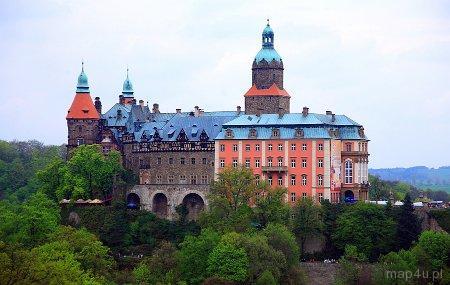 Wałbrzych. Zamek Książ, XIII w.