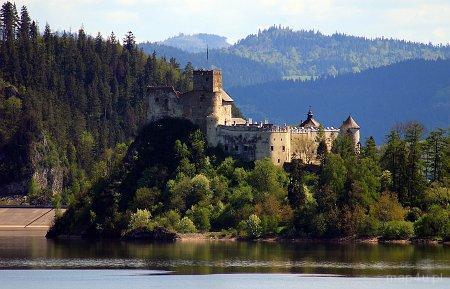 Niedzica. Zamek Dunajec, XIV w.