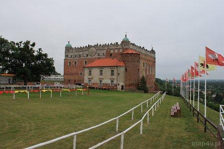 Golub-Dobrzyń. Zamek, XIV w.