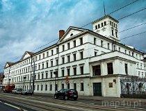 """Łódź. Fabryka Ludwika Geyera """"Biała Fabryka"""" (obecnie Centralne Muzeum Włókiennictwa) (fot. Joanna Parzybut)"""