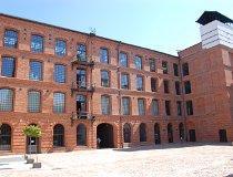 Łódź. Budynek Białej Fabryki. Centralne Muzeum Włókiennictwa (fot. Piotr Wojtaszek)