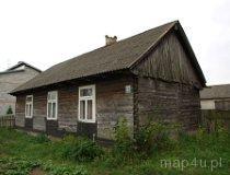 Drobnice. Dom drewniany, Drobnice 163 (fot. Marta Pabich-Makoska)