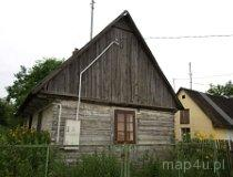 Drobnice. Dom drewniany, Drobnice-Dąbrowa 42 (fot. Marta Pabich-Makoska)