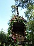 Drobnice. Drewniane kapliczki słupowe (fot. Marta Pabich-Makoska)
