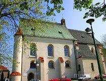 Wieluń. Zespół klasztorny Augustianów (fot. Marek i Ewa Wojciechowscy)