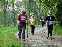 I Mistrzostwa Regionu Wieluńskiego w nordic walking. (fot. Magdalena Kopańska)