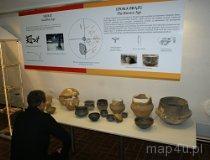 Wieluń. Muzeum Ziemi Wieluńskiej. Wystawa archeologiczna (fot. Magdalena Kopańska)