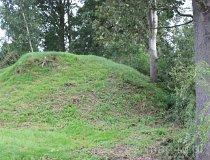 Grodzisko pierścieniowate w Skoszewach Starych (fot. Łukasz Wandachowicz)