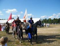 Konni wojowie rozpoczynają IV Święto Bursztynu (fot. Jakub Wawrzyniak)