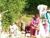 Konopnica. IV Europejskie Święto Bursztynu - Obozowisko. (fot. Jakub Wawrzyniak)