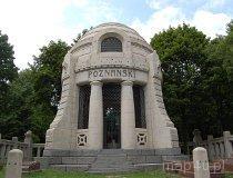 Mauzoleum Poznańskiego na cmentarzu żydowskim w Łodzi ul. Bracka (fot. Agnieszka Rytel)