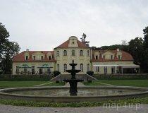 Sokolniki. Pałac Bnińskich w stylu saskiego rokoka. (fot. Tomasz Przygodzki)