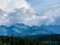 Tatrzański Park Narodowy. Widok z Bukowiny Tatrzańskiej (fot. Agnieszka Chlewicka)
