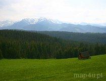 Tatrzański Park Narodowy. Widok z Bukowiny Tatrzańskiej (fot. Marek i Ewa Wojciechowscy)