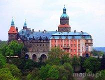Wałbrzych. Zamek Książ, XIII w. (fot. Marek i Ewa Wojciechowscy)