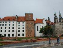 Brzeg. Widok na Zamek Książąt Piastowskich (fot. Piotr Wojtaszek)