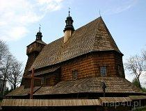 Haczów. Kościół pw. Wniebowzięcia NMP (fot. Marek i Ewa Wojciechowscy)