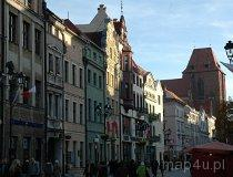 Toruń. Kamienice stojące na Starym Rynku (fot. Piotr Wojtaszek)