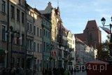 Toruń. Kamienice stojące na Starym Rynku