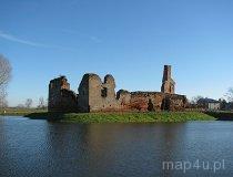 Besiekiery. Ruiny zamku, XV-XVII w. (fot. Tomasz Szwagrzak)