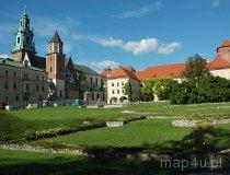 Kraków. Królewski Zamek na Wawelu. Widok na Zamek i Katedrę Wawelską (fot. Piotr Wojtaszek)