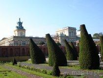 Warszawa. Królewski Pałac w Wilanowie (fot. Piotr Wojtaszek)