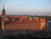 Warszawa. Widok na zamek królewski (fot. Piotr Wojtaszek)