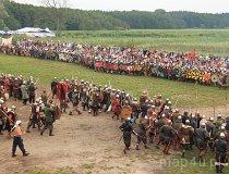 Wolin. Festiwal Słowian i Wikingów 2011 - Bitwa (fot. Łukasz Konieczny)