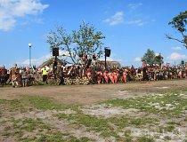 Wolin. Festiwal Słowian i Wikingów 2011 - Drużuna Jastrzębi (fot. Daria Konieczna)