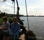 Wolin. Festiwal Słowian i Wikingów 2011 - Łodzie Wikingów (fot. Daria Konieczna)