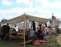 Wolin. Festiwal Słowian i Wikingów 2011 - Obozowisko (fot. Łukasz Konieczny)