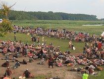 Wolin. Festiwal Słowian i Wikingów 2011 - Po bitwie (fot. Łukasz Konieczny)
