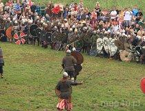 Wolin. Festiwal Słowian i Wikingów 2011 - Wróżby i harcownicy (fot. Łukasz Konieczny)