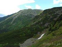 Babiogórski Park Narodowy. Widok na zachodnio-północne zbocze Masywu Babiej Góry (fot. Piotr Wojtaszek)