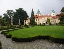Wałbrzych. Zamek Książ. widok na budynek bramny z dzidzińca honorowego (fot. Piotr Wojtaszek)