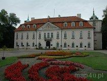 Nieborów. Pałac Radziwiłłów z XVIII w. Elewacja ogrodowa. (fot. Dominika Pusta.)