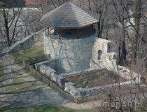 Cieszyn. Widok na ruiny zamku piastowskiego (fot. Piotr Wojtaszek)