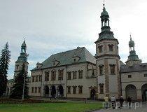 Kielce. Widok na Pałac Biskupi (fot. Piotr Wojtaszek)