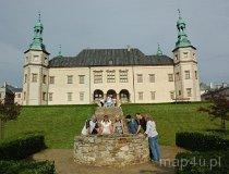 Kielce. Widok na Pałac Biskupi od strony ogrodu (fot. Piotr Wojtaszek)