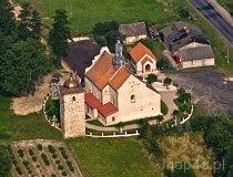 Krzywożeka. Kościół parafialny pw. śś. Piotra i Pawła (fot. Kacper Dondziak)