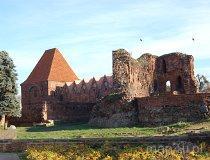 Toruń. Ruiny Zamku Krzyżackiego (fot. Piotr Wojtaszek)