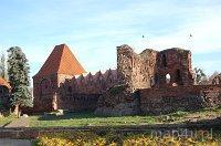 Toruń. Ruiny Zamku Krzyżackiego