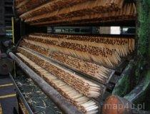 Częstochowa. Muzeum Produkcji Zapałek. Maszyna przedstawiająca proces produkcji zapałek (fot. Piotr Wojtaszek)