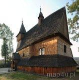 Dębno. Drewniany Kościół pw. św. Michała Archanioła (fot. Piotr Wojtaszek)