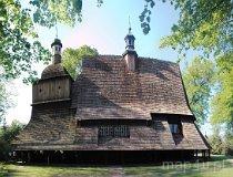 Sękowa. Drewniany Kościół pw. śś. Filipa i Jakuba (fot. Piotr Wojtaszek)