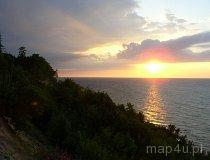 Zachód słońca nad Bałtykiem (fot. Łukasz Konieczny)