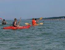 Spływ kajakiem prosto do morza (fot. Daria Konieczna)