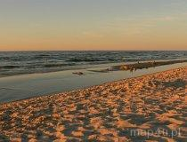 Plaża nad Bałtykiem (fot. Łukasz Konieczny)