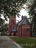 Strońsko. Kościół parafialny pw. św. Urszuli. (fot. Marta Pabich-Makoska)